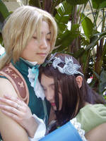 A sweet reunion - FF9 by lithele