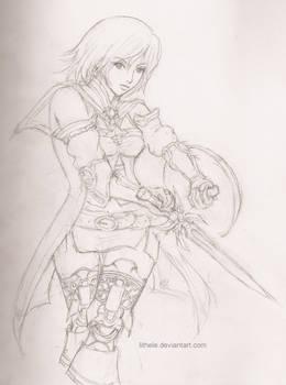 FF12 - Ashe sketch
