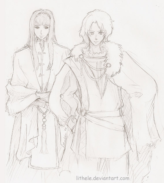 Shinou and Daikenja by lithele
