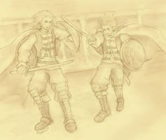 FF12 - The Good Old Days by lithele