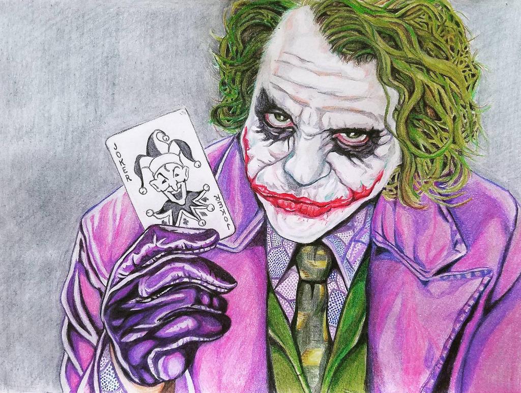 Heath Joker by theClementine17