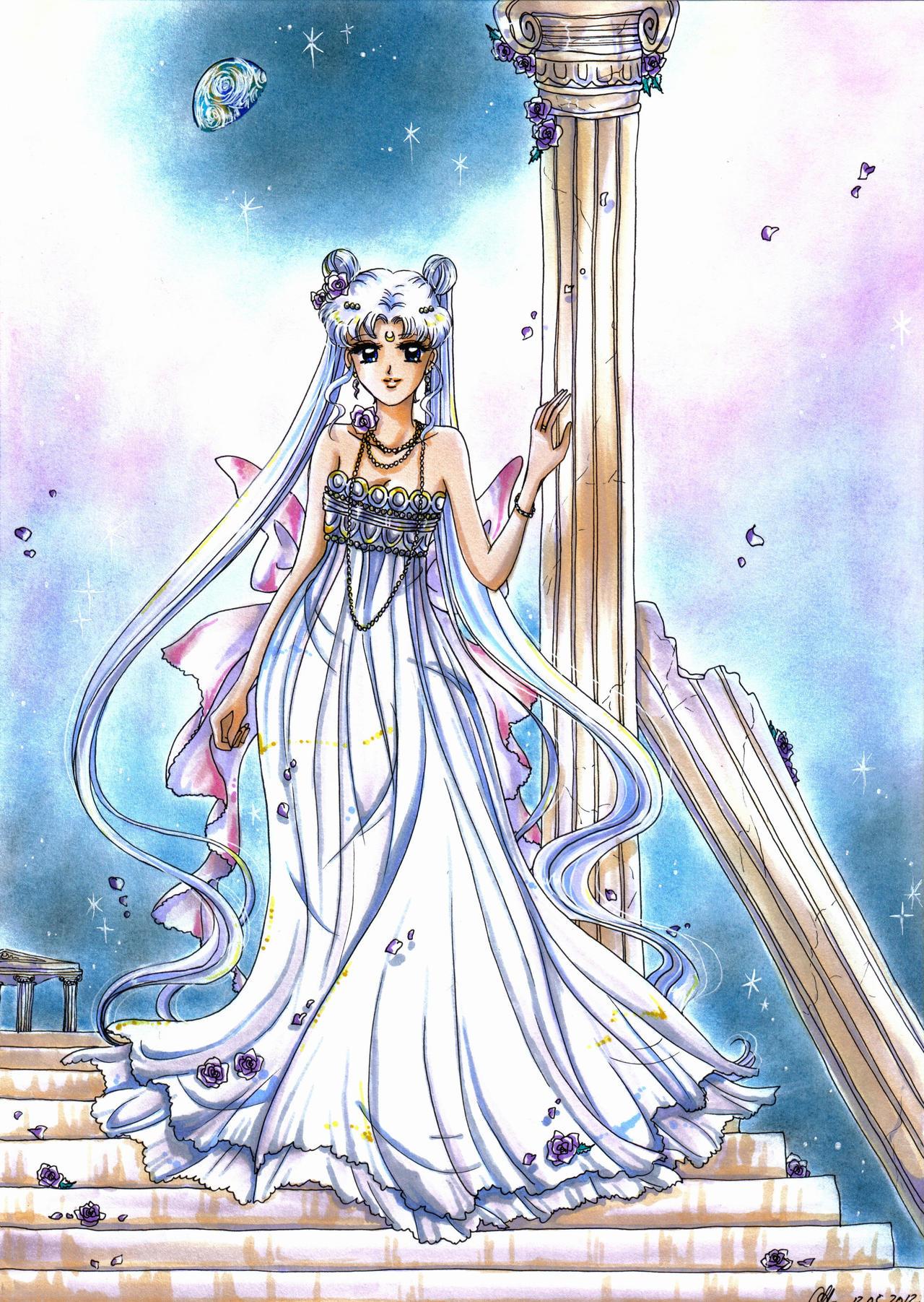 Usagi/Sailor Moon and Chibi-Usa/Sailor Chibi-Moon Bday