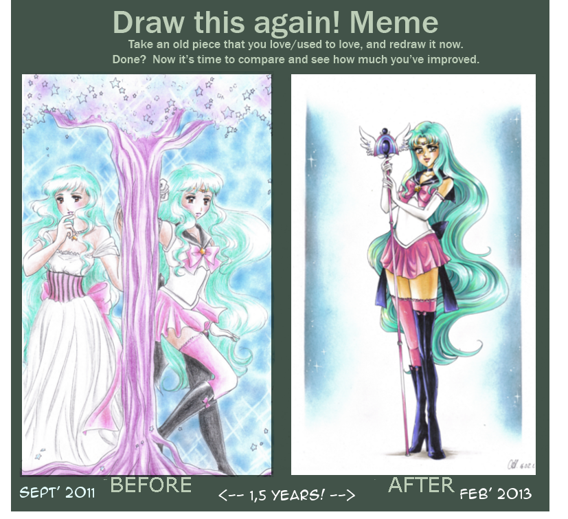 Meme BEFORE + AFTER by MTToto