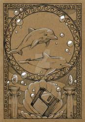 Notebook Cover: Seapunk