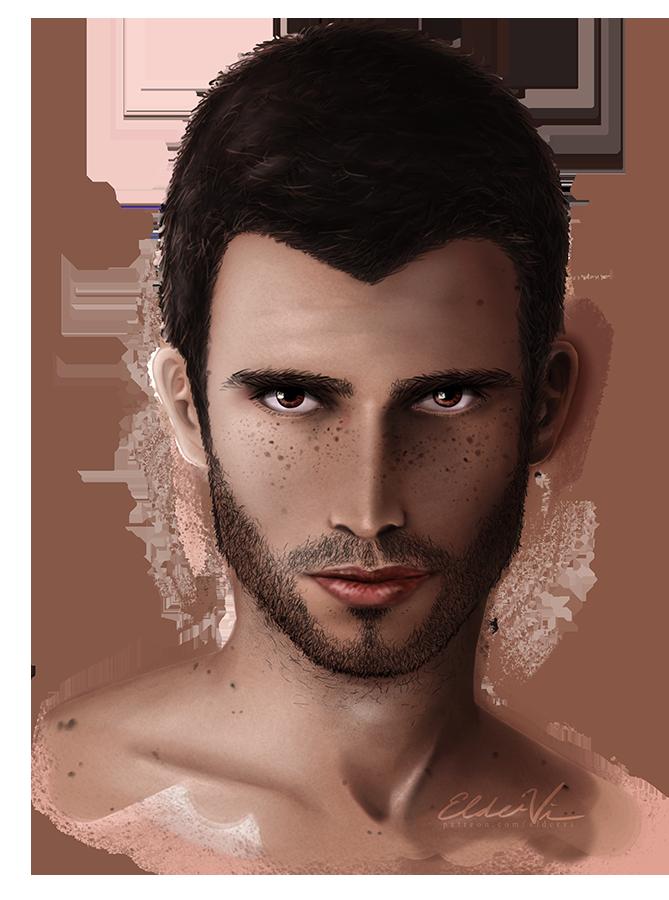 Melio Portrait by Eldervi