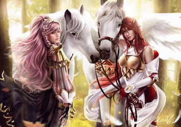 Fire Emblem Olivia x Cordelia