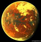 Exoplanet Gliese 667Cc