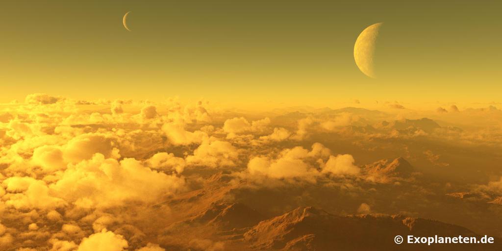 Exoplanet Gliese 581c