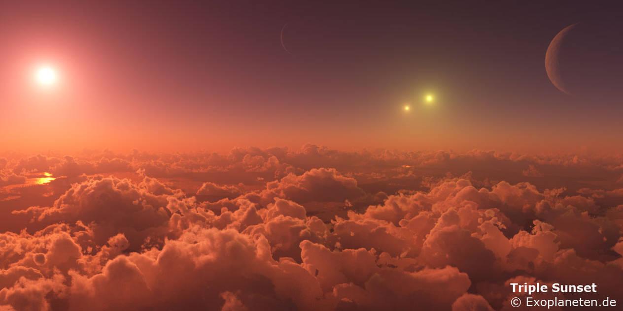 Triple Sunset by ChrisKlm