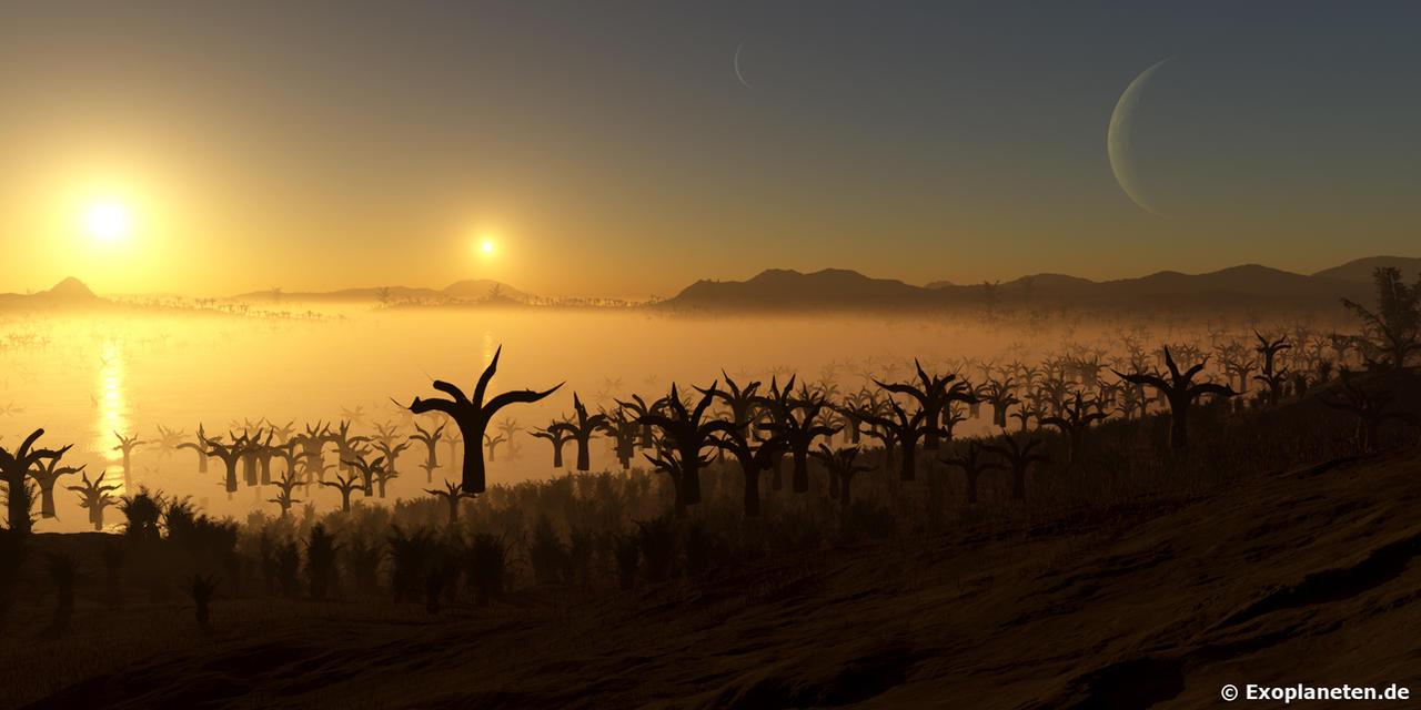 Shores of Distant Worlds - Alpha Centauri B