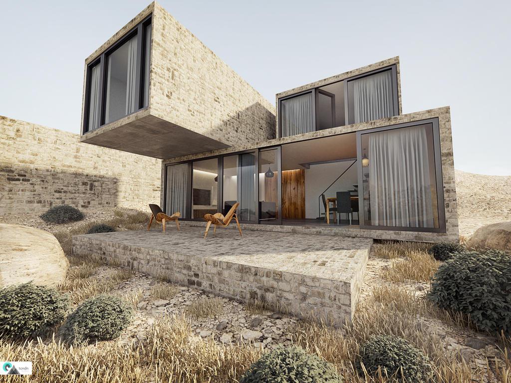 Desert House V2 by kor...