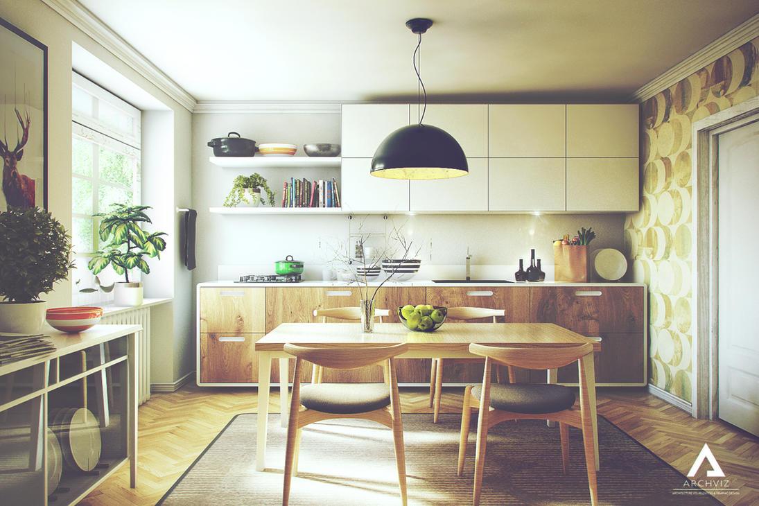 kitchen design by kornny