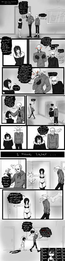Page 7 (Bonely) Sans x Frisk