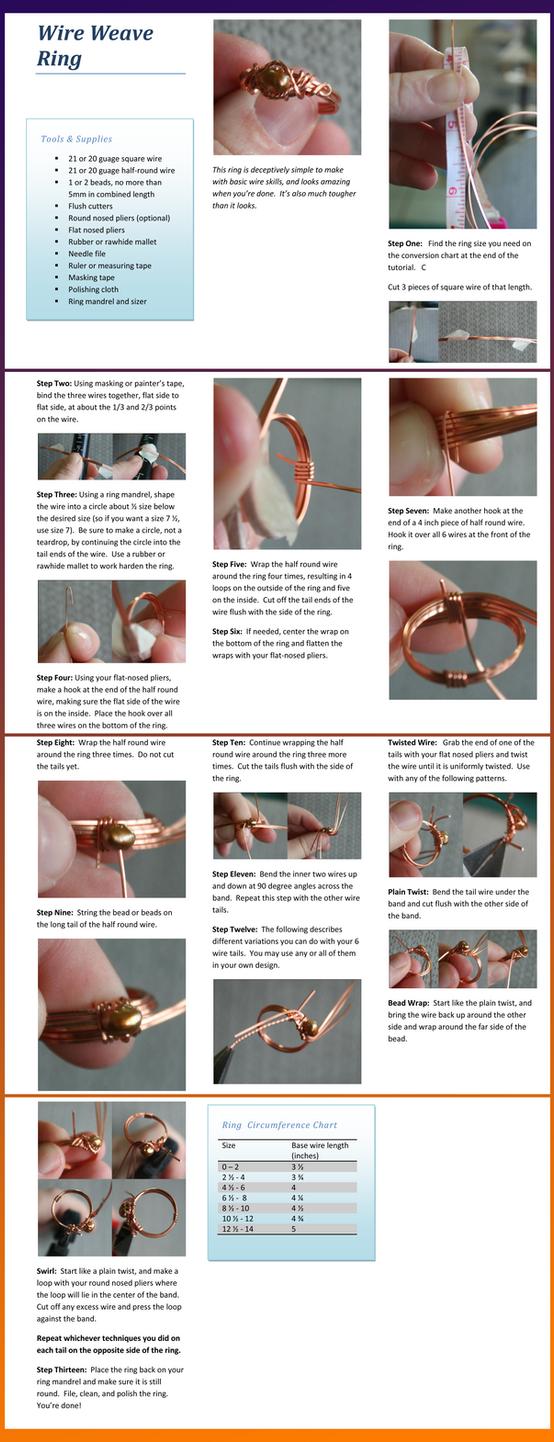 Weave Ring Tutorial by goddessccoa on DeviantArt