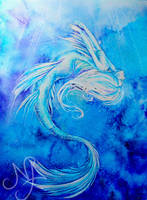 Dance of the Blue Mermaid by MiaLaia