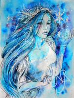 Snow Queen by MiaLaia