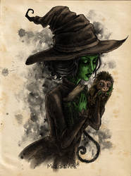 Wicked Witch of the West by MiaLaia