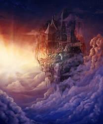Castle in the sky by MiaLaia