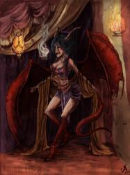 Lady Drake by MiaLaia