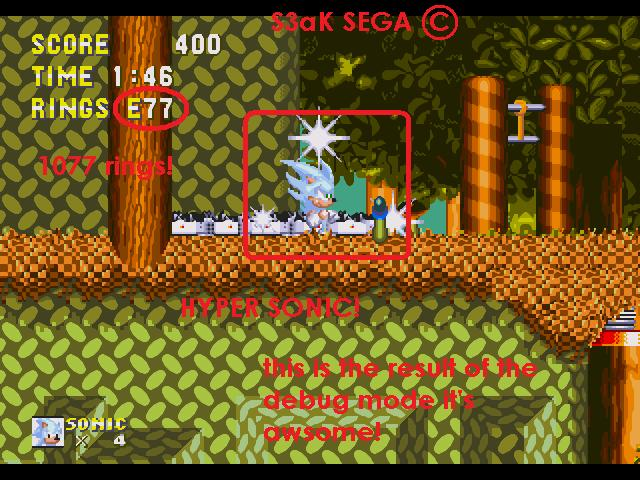 Sonic 3 & Knuckles - How to get Debug mode - YouTube