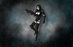 Black-ops soldier by DwarfVader23