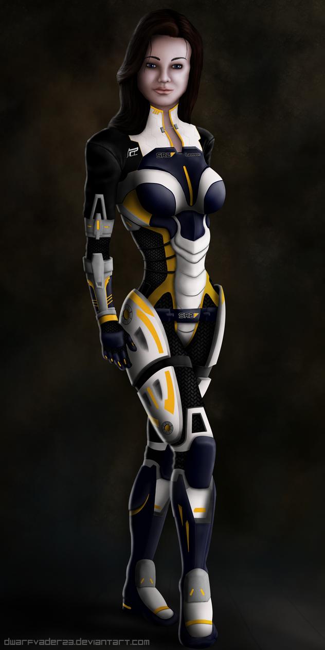 Miranda Lawson Mass Effect 3 by DwarfVader23