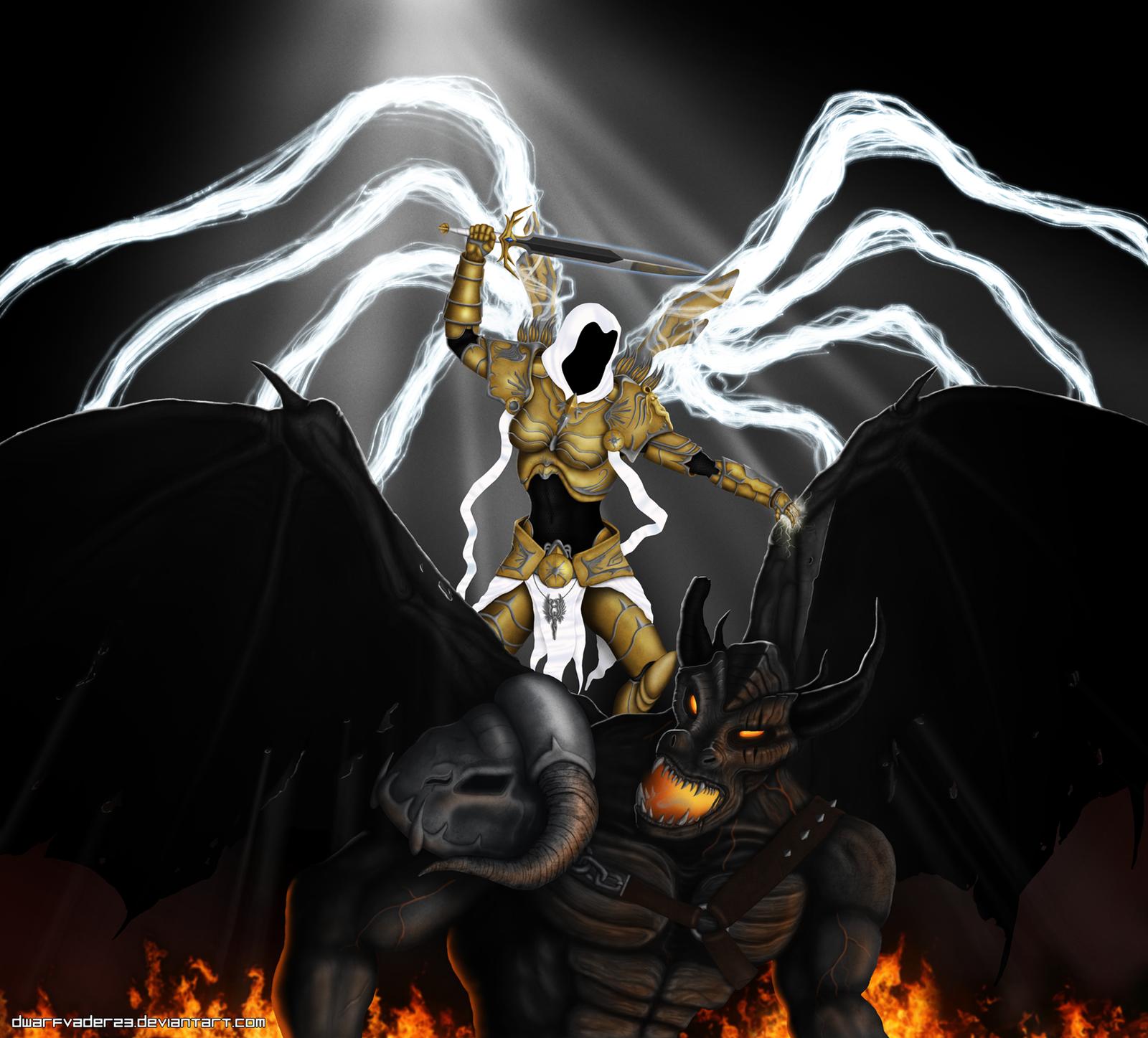 Auriel, Archangel of Hope by DwarfVader23