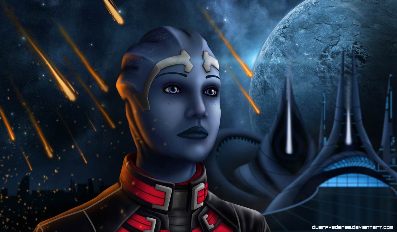 Mass Effect 3 Liara by DwarfVader23