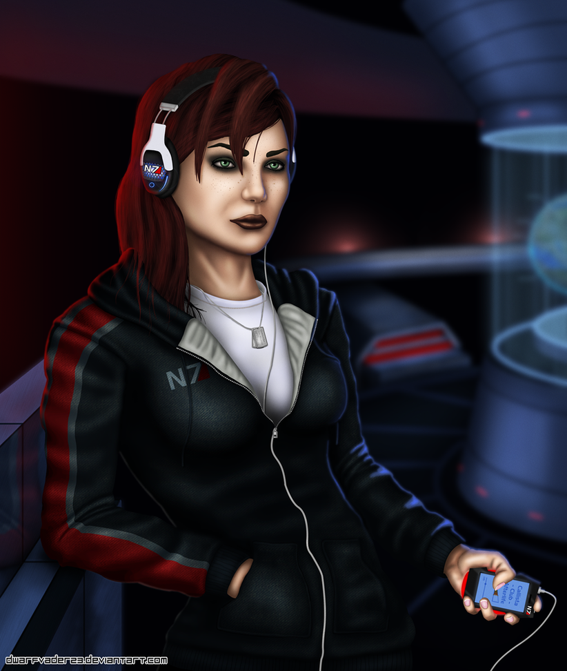 Mass Effect 3 Femshep Casual by DwarfVader23