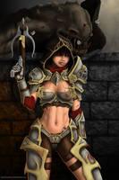 Diablo 3 Demon Hunter by DwarfVader23