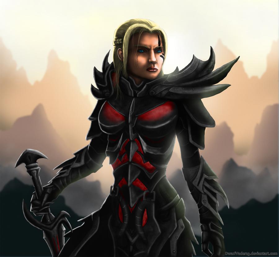 Skyrim warrior by DwarfVader23