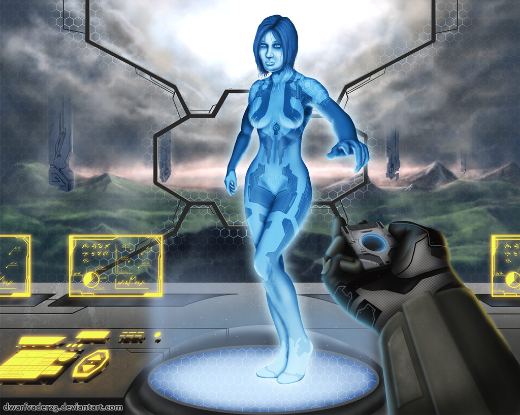 Halo 4 - Cortana by DwarfVader23