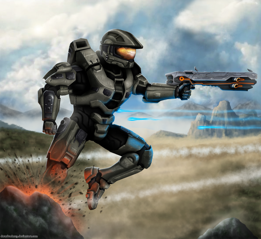 Halo 4 - Master Chief by DwarfVader23