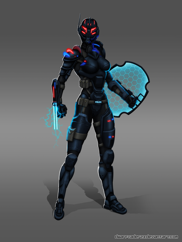 Riot Police by DwarfVader23