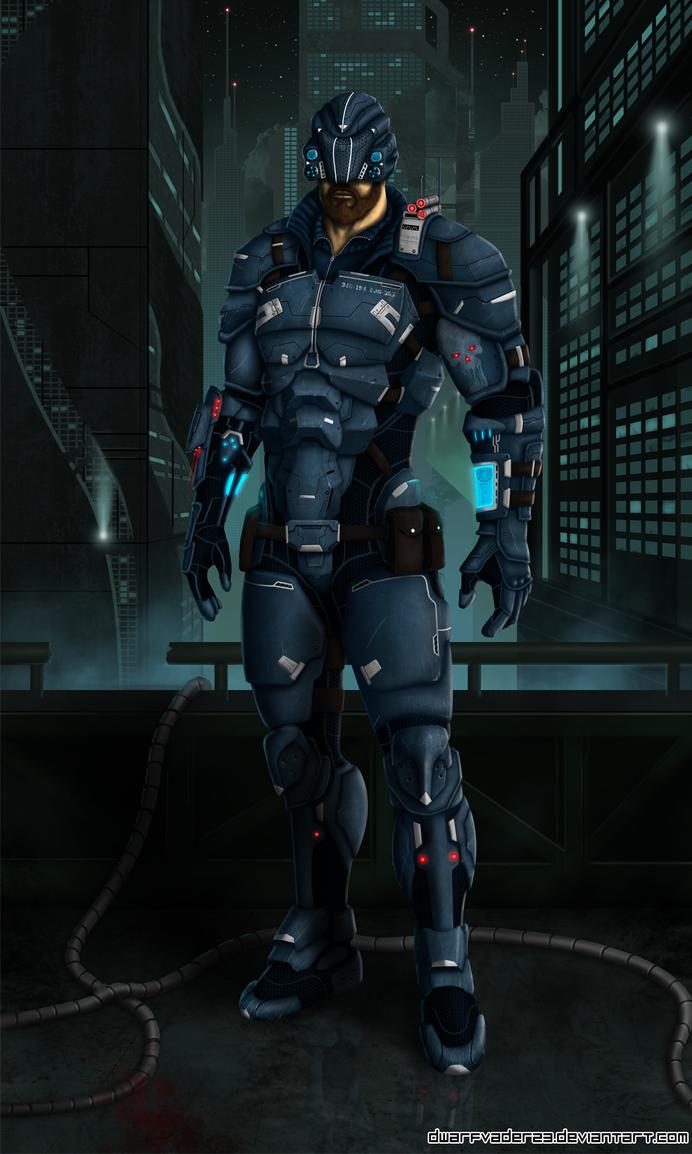 Cyberpunk by DwarfVader23