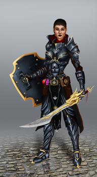 Dragon Age - Cassandra Pentaghast
