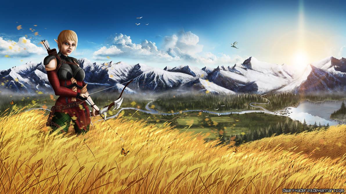 DA:I - Sera by DwarfVader23