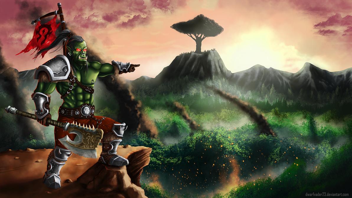 Grom Hellscream by DwarfVader23