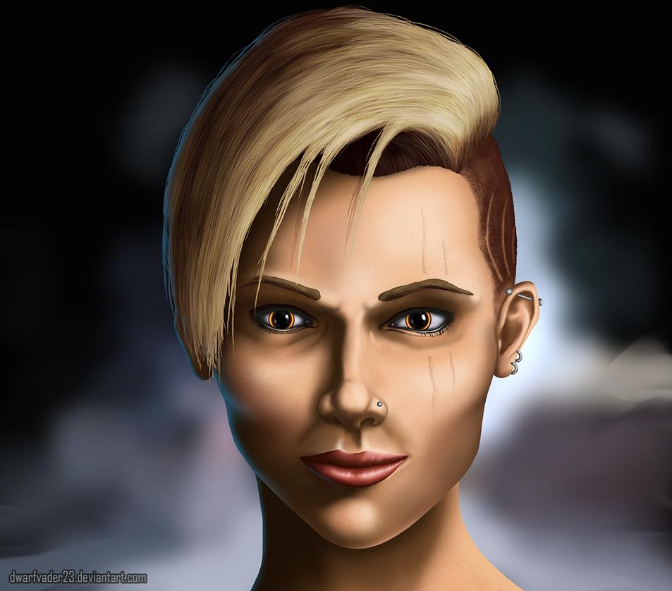 Aurelia portrait by DwarfVader23