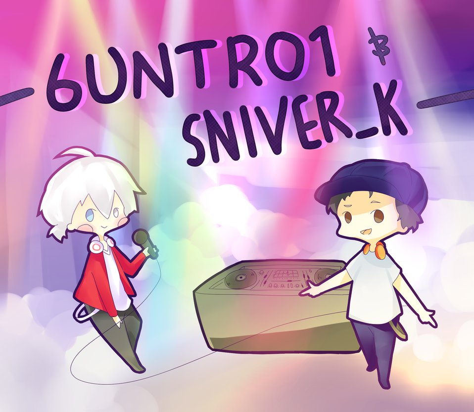 6UNTR01 by GUN x Baka-Ateru by gungly