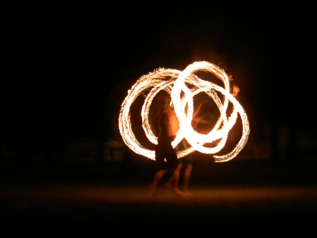 Fire Twirling by Shane108