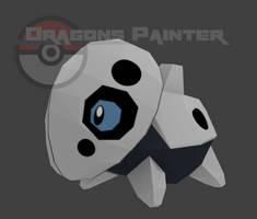 Pixelmon Aron model by DragonsPainter