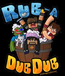 Rubadubdub, four men in a tub! by DragonsPainter