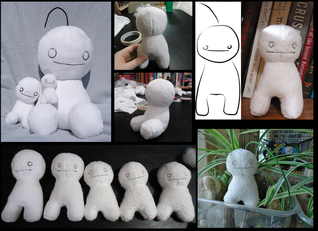 Cryaotic Sup Guy plush pattern by DragonsPainter