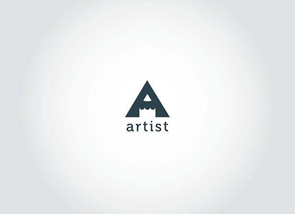 artist logo by samadarag on deviantart
