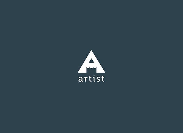 artist logo white by samadarag on deviantart