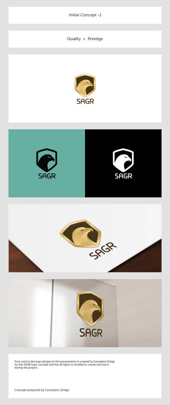 SAGR Logo Design: Initial Concept 1 by samadarag
