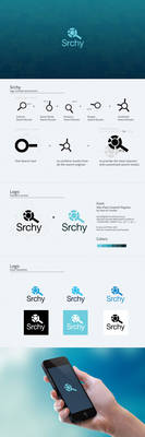 Srchy Logo Design Process
