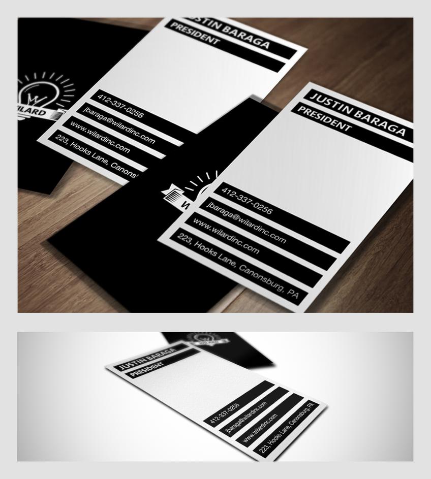 Wilard Business Card Design by samadarag on DeviantArt