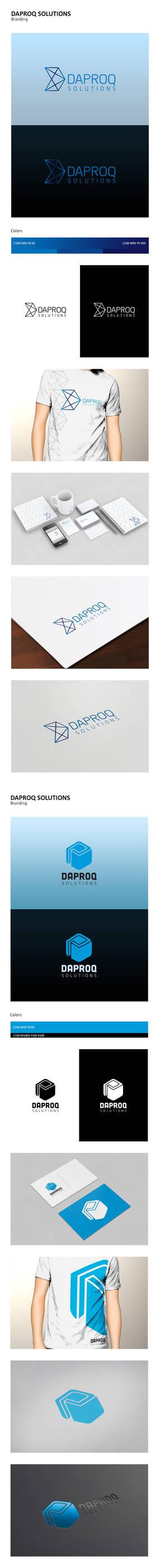 Daproq Solutions Logo Concepts